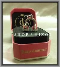 AUTHENTIC RARE JUICY COUTURE PAVE PINK HEADPHONES SILVER CHARM NIB FREE SHIPPING