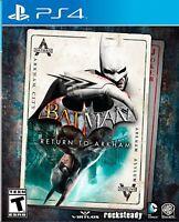 Warner Bros Games: Batman: Return to Arkham, PlayStation 4
