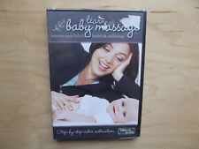 Learn Baby Massage (DVD, 2013) New