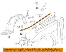 HYUNDAI OEM 12-14 Azera Fender-Molding Trim Left 877713V100