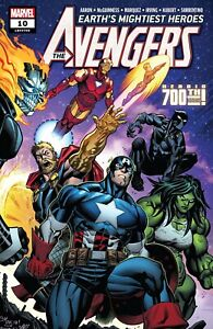 Avengers #10 Marvel Comics 2018 NM