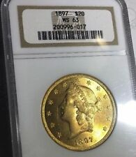 Gold NGC Grade MS 63 US Coins