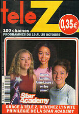 REVUE TELE Z STAR ACADEMY 2002