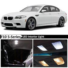 White Interior LED Light Package for 2011-2015 BMW 5 Series M5 535i 550i F10