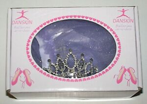 Nwt New Danskin Ballerina in a Box Leotard Tutu Tiara Crown Butterfly Fairy Girl