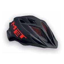 Childrens enduro youth cycle helmet MET Crackerjack Black Red 52-57cm