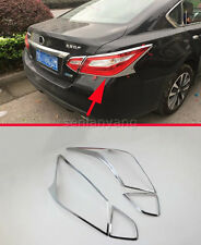 ABS Chrome Rear Light Taillight Cover Trim for 2016-2018 Nissan Altima Lamp 4PCS