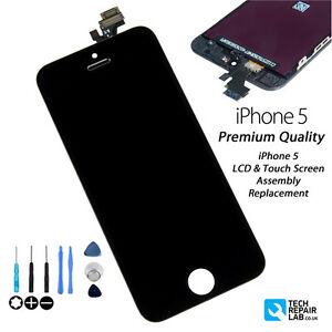 NEW iPhone 5 Replacement Retina LCD & Digitiser Touch Screen Digitiser - BLACK