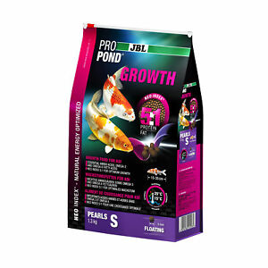 JBL Propond Growth S, 1,3 KG, Wachstumsfutter for Small Koi From 15-35 CM