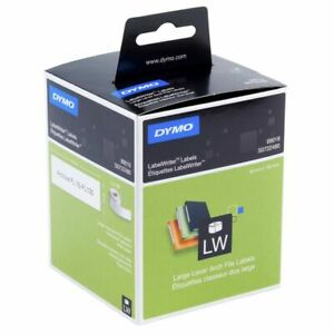 DYMO LabelWriter Lever Arch Labels 59 x 190mm 99019 Large LAF laebl