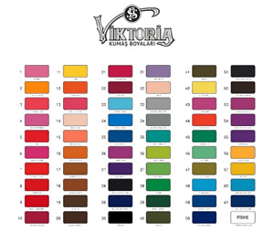 Viktoria Fabric Dye 10g Recycle Old Textile Materials - Dyes 200g Fabric Perfect