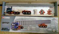 Corgi 76802 MAN Tractor Unit Bogie & Bridge Beam Load Ltd Ed No. 0002 of 4000