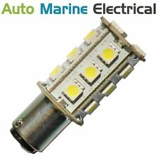 Red LED Navigation Light Bulb 12/24V Port Marine, Boat, BAY15D