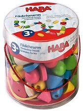 HABA 2155 Bambini Perlen Fädelwurm: : Spielzeug