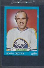1973/74 Topps #108 Roger Crozier Sabres NM *312