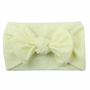3Pcs Newborn Baby Girl Headband Infant Toddler Bow Hair Band Girls Accessories