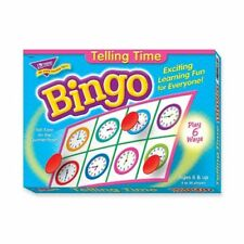 Trend Telling Time Bingo Game - Theme/subject: Learning - Skill Learning: Time,