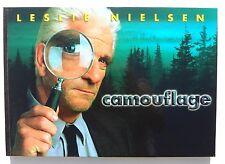 Large LESLIE NIELSEN Camouflage Movie MERCHANDISE Promo Booklet Brochure