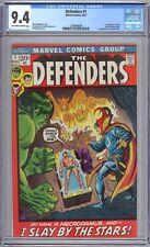 Defenders #1 Marvel 1972 CGC 9.4 NM Hulk, Sub-Mariner, Doctor Strange – Premiere