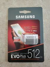 Samsung Microsdxc Evo Plus 512gb With Sd Adapter