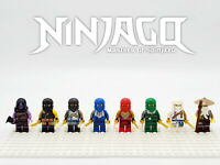 Ninjago Custom Hero Set 8 Minifigures Lot - USA SELLER