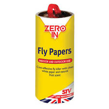 More details for zero in fly papers pack of 8