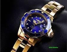 Invicta 8944 mujer Pro Diver oro acero azul esfera reloj de buceo