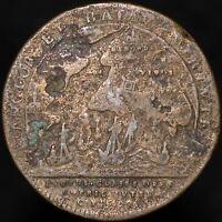 1702 | Anne Expedition To Vigo Bay 'Lauffer, Nurnberg' Medal | Medals | KM Coins