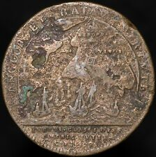 More details for 1702 | anne expedition to vigo bay 'lauffer, nurnberg' medal | medals | km coins