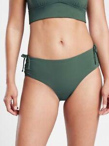 Athleta Women's Amazon Green Full Cinch Bikini Swim Bottom NWT Various Sizes