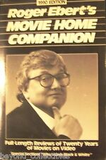 ROGER EBERT'S MOVIE HOME COMPANION 1990 EDITION - 20 YRS OF FULL LENGTH REVIEWS