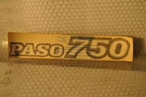 Ducati Aufkleber / Stickers OEM Original Ducati Paso 750