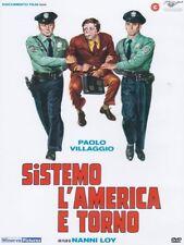 Dvd Sistemo L'America e Torno **** Paolo Villaggio *** ...NUOVO