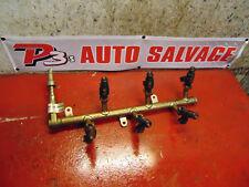 07 06 05 04 Cadillac SRX oem 3.6 fuel injector rail 12572886 & 0280156131