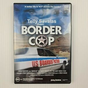 Border Cop DVD - Telly Savalas - All Regions PAL - TRACKED POST