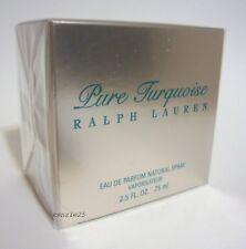 RALPH LAUREN PURE TURQUOISE WOMEN PERFUME EDP 2.5 OZ SPRAY 75 ML NIB