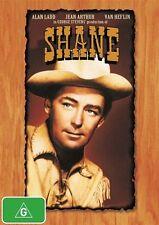 SHANE Alan Ladd DVD R4 - New