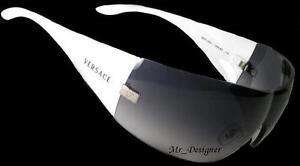 NEW Authentic VERSACE Designer Mens Womens White Mod. VE 2054 1000/8G Sunglasses