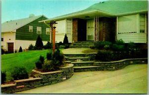West Hempstead L.I. NY Advertising Postcard LAWLOR STONE COMPANY House View