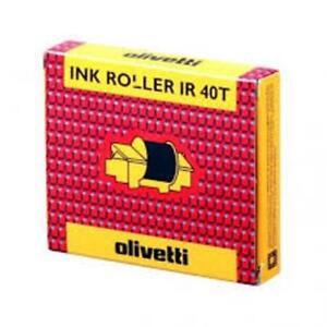 Rullo Inchiostro Olivetti Nero e Rosso Cod.81129J (1 Kit 2 pz) x Summa/Divisumma