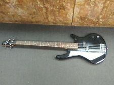 Ibanez Gio Soundgear Black 4 String Bass Guitar *WORKS,REPAIRS*AS-IS