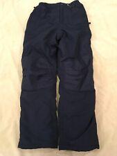 Lands End 14 Boys Girls Navy Blue Snowpants Winter Snow Pants