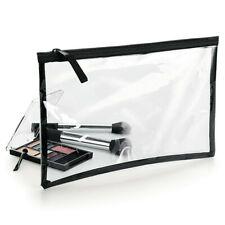BagBase Clear Grab Pouch See Through Make Up Bag Cosmetics Clutch Case (BG8)
