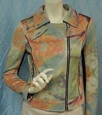 SILVIAN HEACH Fresh designer multi color jacket/blazer/coat, sz. XXS; very small