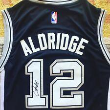 2fcf200ead5 LaMarcus Aldridge Signed Autograph San Antonio Spurs Jersey NBA Texas