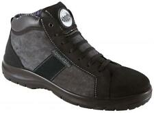 Safety Boots, Safety Work Shoes, Aboutblu, Black, CHICAGO MID S3, UK 7 BNIB