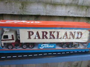 Tekno Rare Boxed Parkland Scania 143 6x2 with Fridge mint boxed