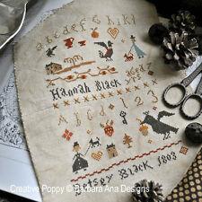Barbara Ana Designs Counted X-stitch Chart - Sisters