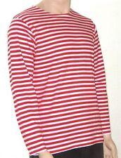 Camisetas de hombre rojos sin marca 100% algodón