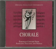 Indiana Wesleyan University Chorale European Concert Tour Scotland England and F